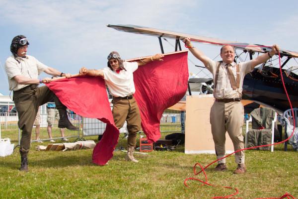 Flying Circus tijdens de show van 2012.