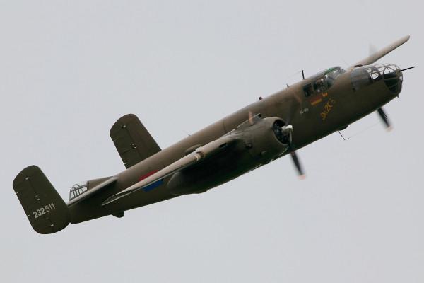 B-25 Mitchell (Foto Rob van Ringelesteijn)