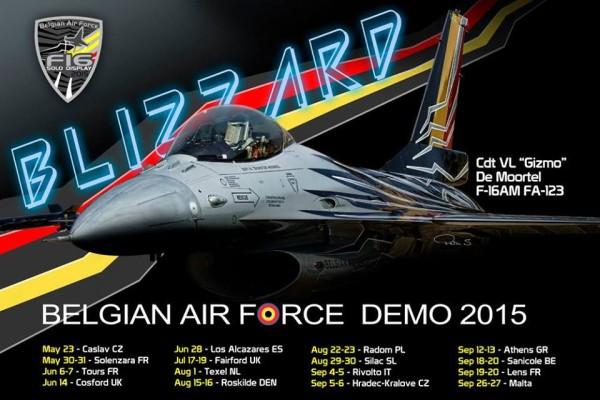 Kalender F-16 demo.