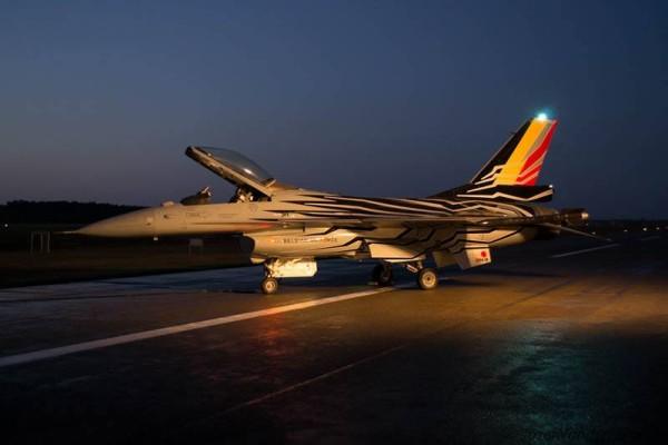 De FA123 van de Belgian Air Force.