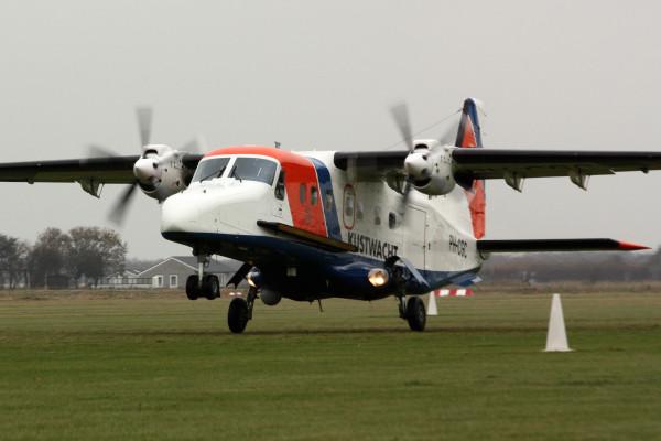 Dornier 228-212 van de Kustwacht.