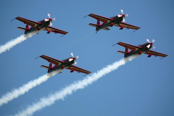 Royal Jordanian Falcons (Foto: Rob van Ringelesteijn)