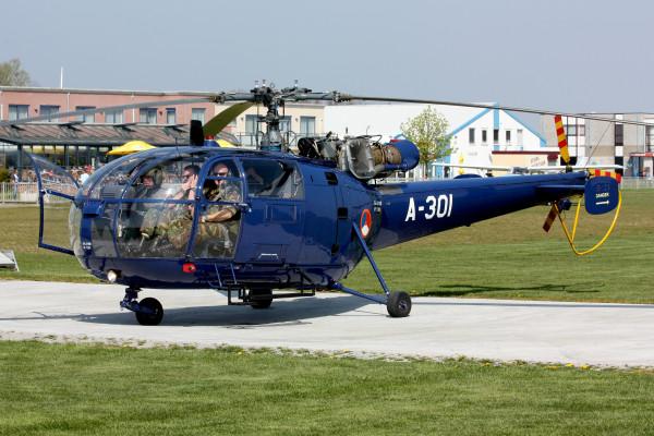 Alouette III van de Koninklijke Luchtmacht.