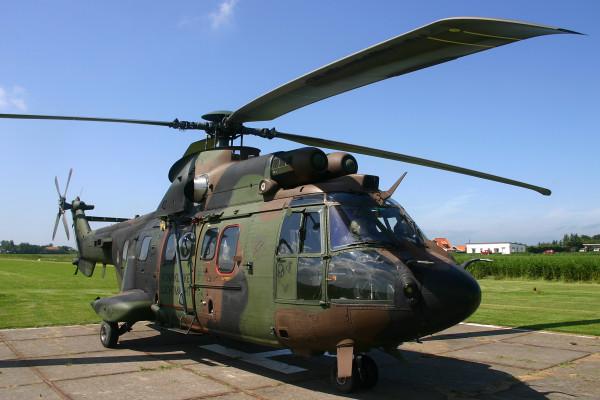 Cougar van de Koninklijke Luchtmacht.