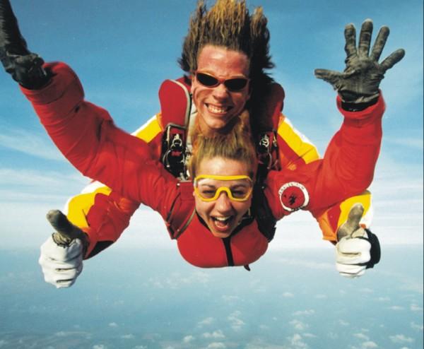 Tandemsprongen is de specialiteit van PCT.